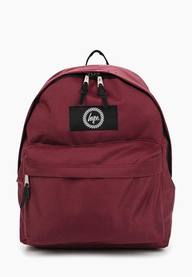Модный красный рюкзак 2020-2021