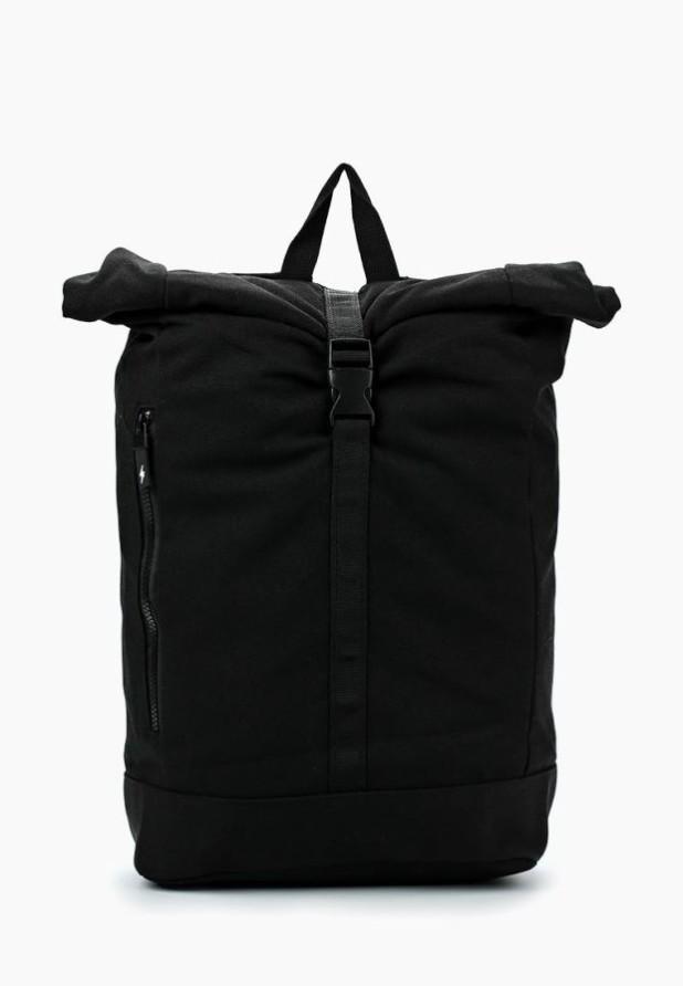 Модный черный рюкзак 2018-2019