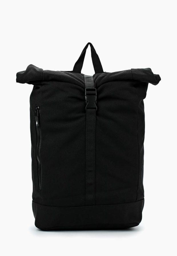 Модный черный рюкзак 2020-2021