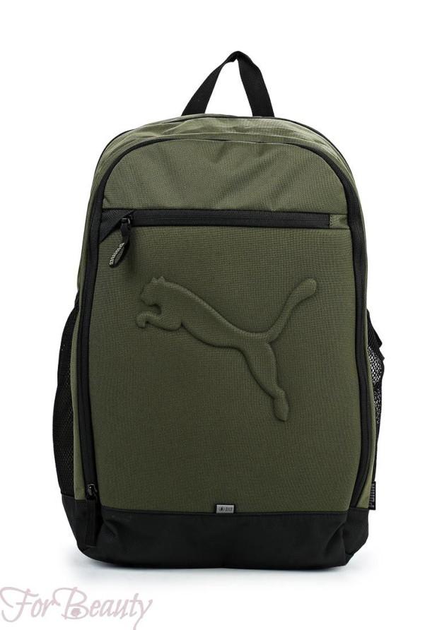 Модный зеленый рюкзак 2018