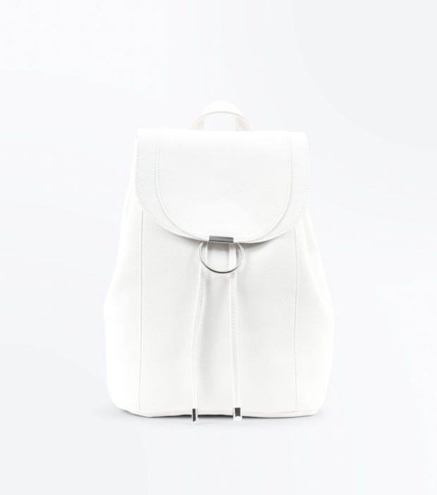 Модный белый рюкзак 2020