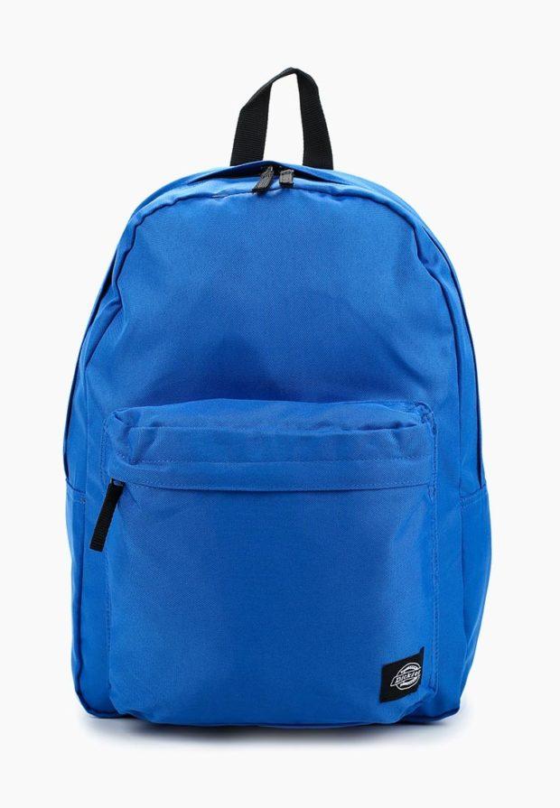 Модный синий рюкзак 2018-2019