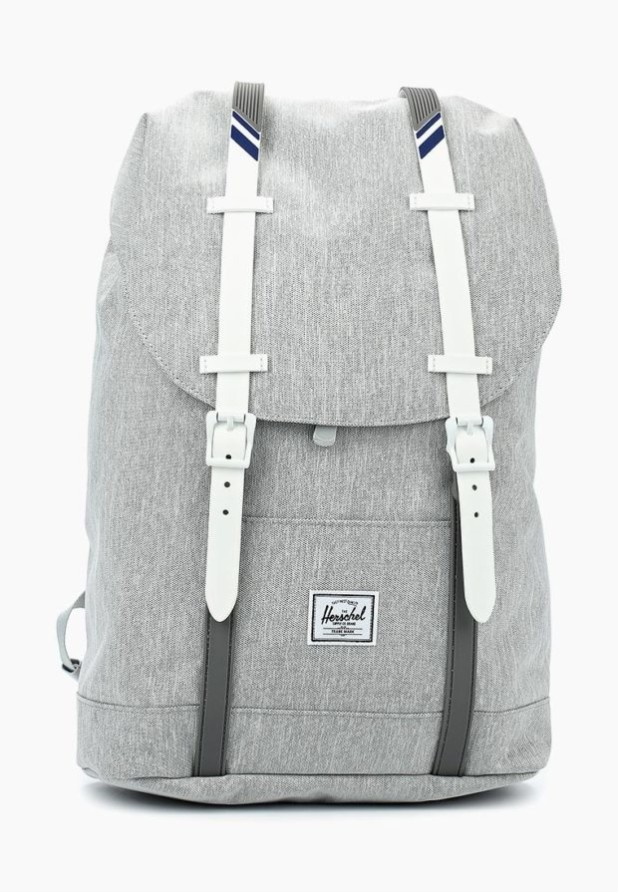 Модный серый рюкзак 2018-2019