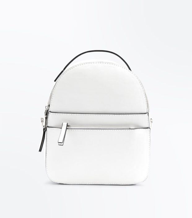 Модный белый рюкзак 2020-2021