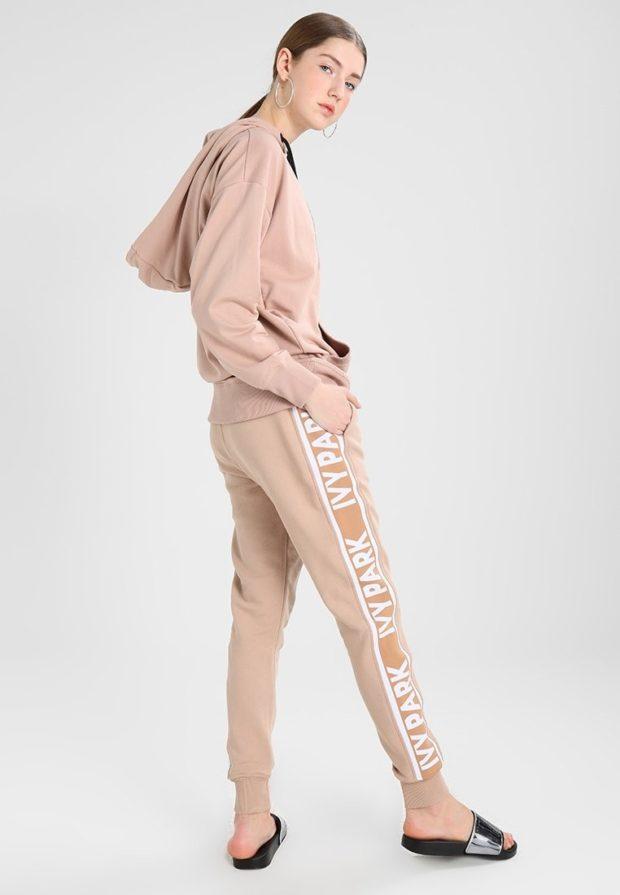 спортивный костюм женский 2020 2021: розовый