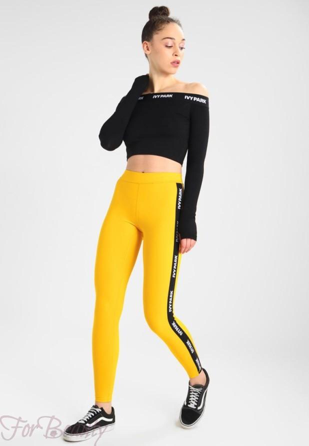 желтый с черным спортивный костюм 2018