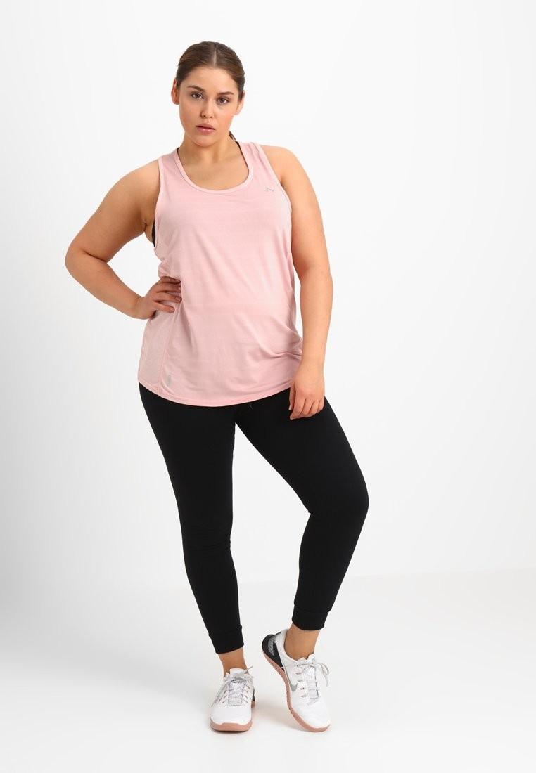 спортивный костюм женский 2018 2019: черный с розовым для полных