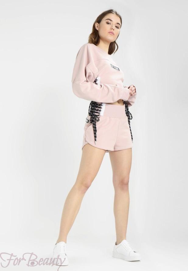 спортивные костюмы 2018 2019 женские: розовый