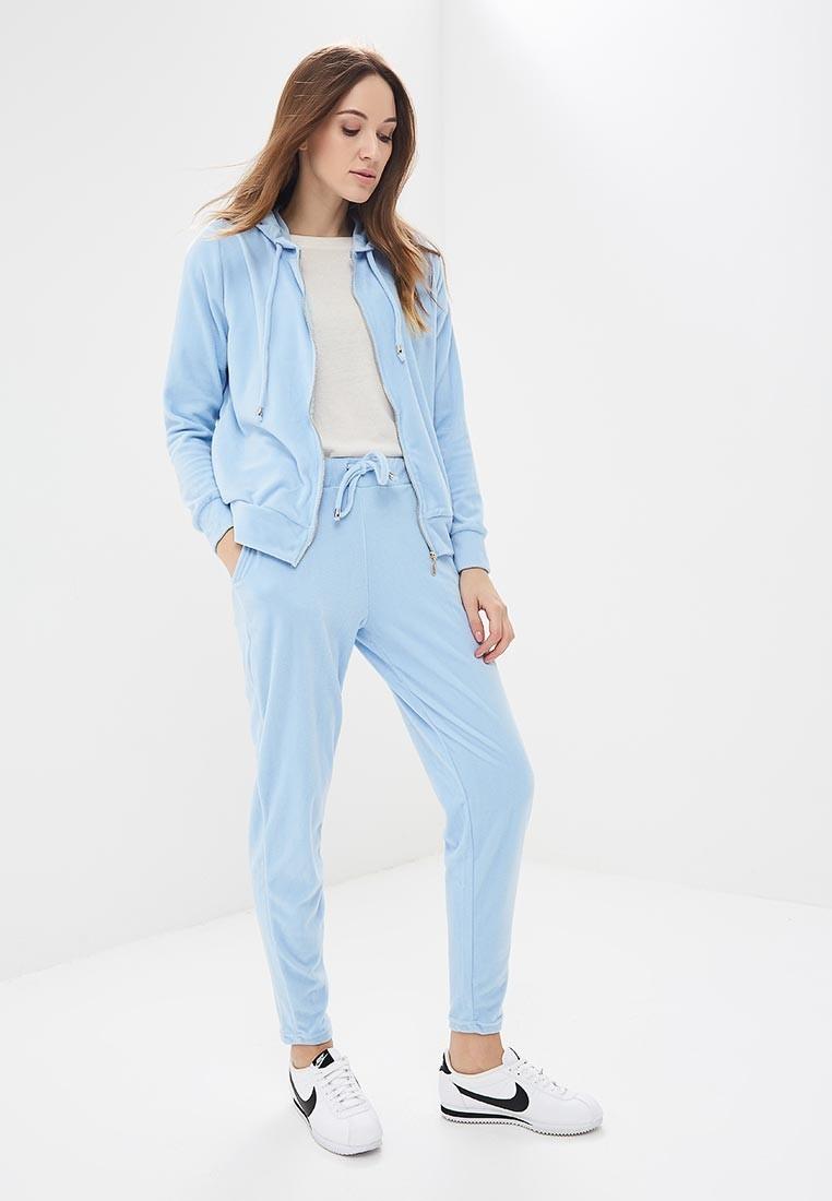 модные спортивные костюмы 2018 2019 женские фото: голубой