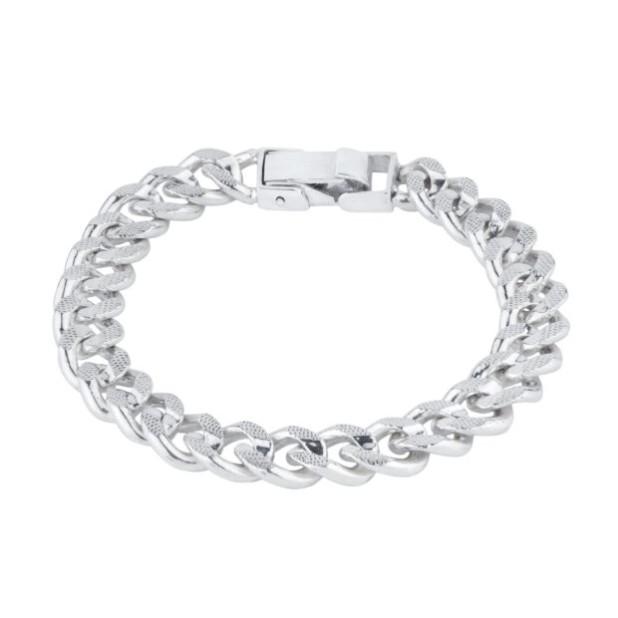 Модный браслет из серебра 2018-2019