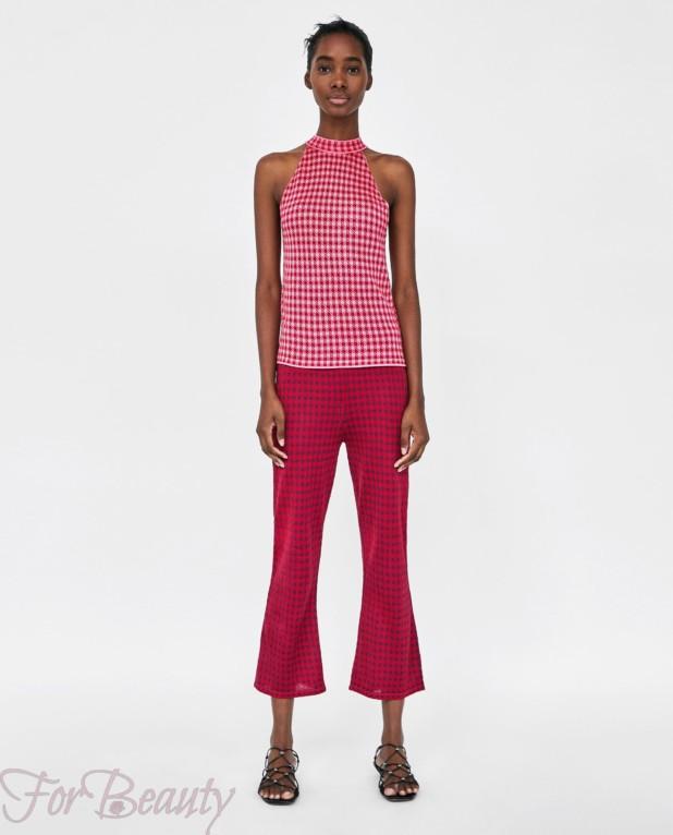 модные розовые брюки 2018 год