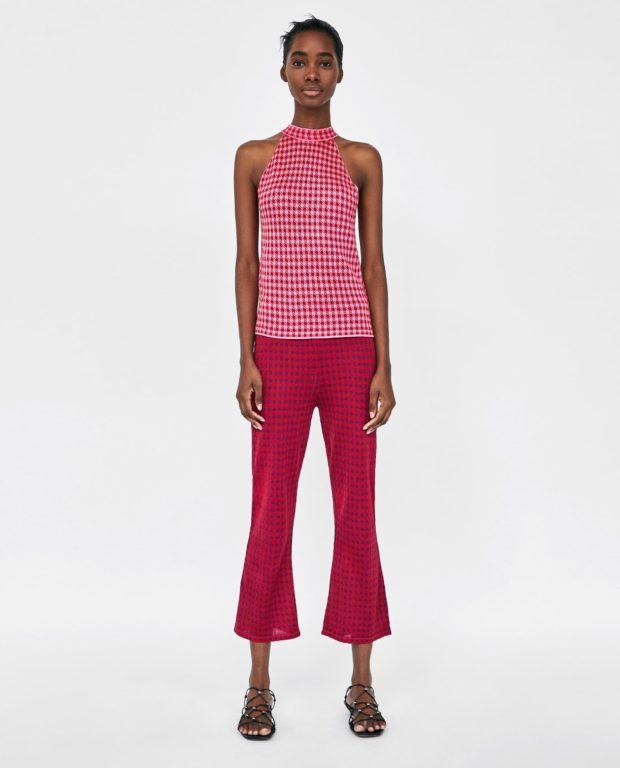 брюки женские 2020 модные тенденции фото: розовые