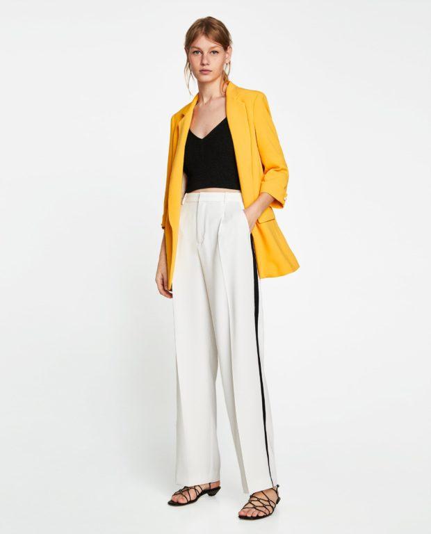 брюки женские 2020-2021 года модные тенденции: белые
