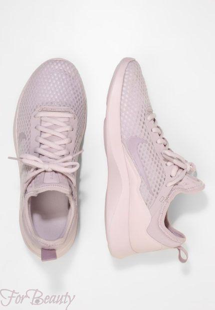 кроссовки 2018 женские: модные розовые