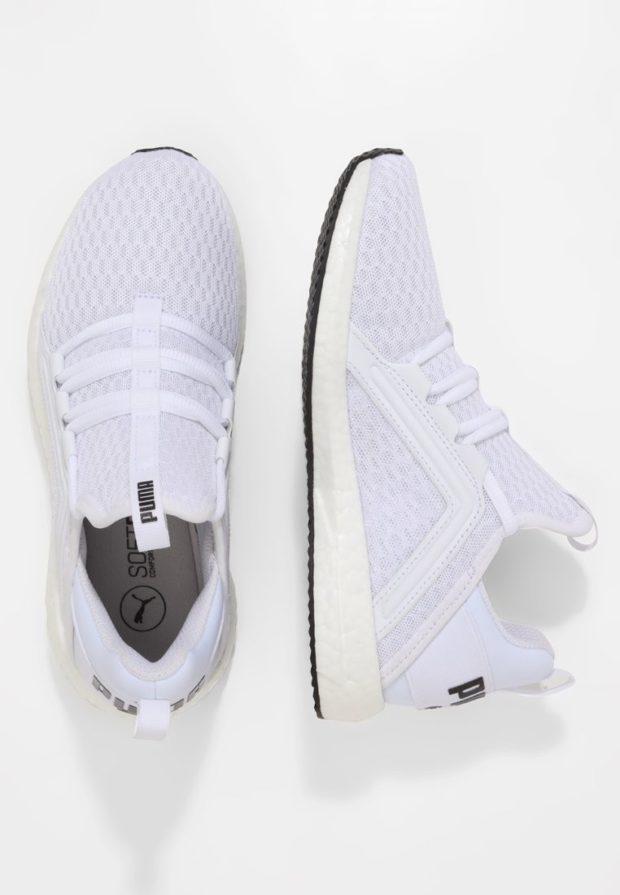 Модные белые кроссовки 2018-2019 Puma
