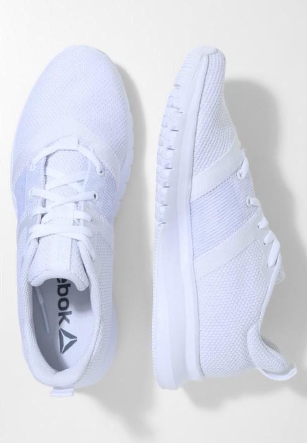 Модные белые кроссовки 2018-2019 Reebok