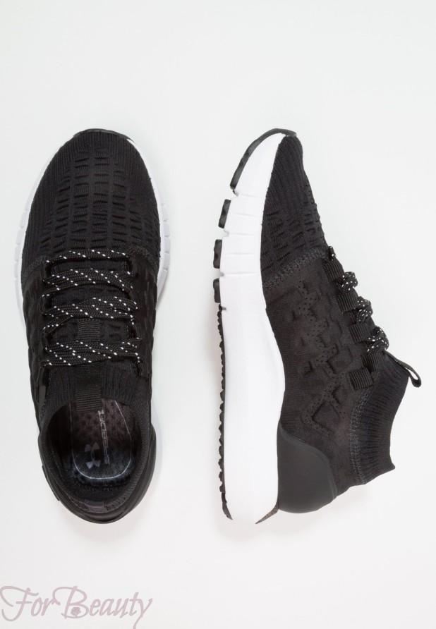 модные черные женские кроссовки 2018