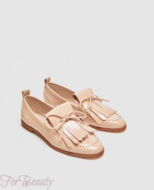 модные туфли 2018 фото женские: розовые без каблуков