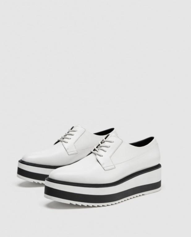 модные туфли 2018-2019 фото женские: белые без каблуков