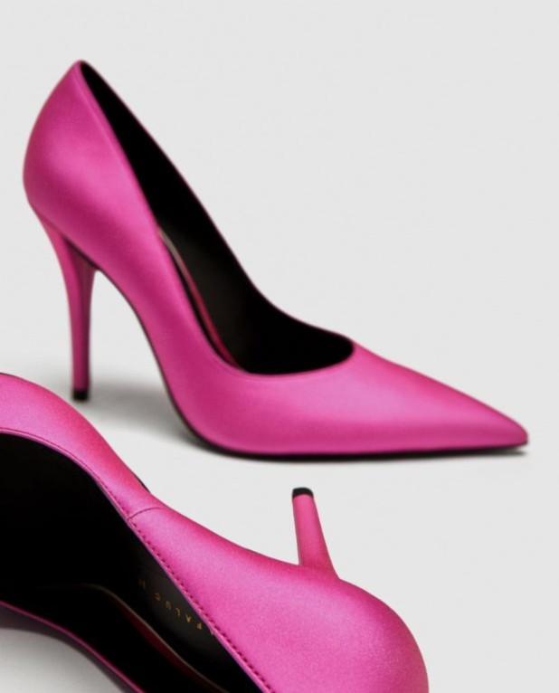 туфли 2018-2019 года модные: розовые на шпильке