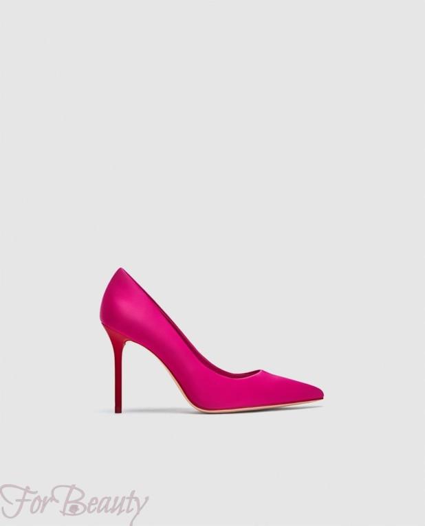 туфли 2018 года модные: розовые на шпильке