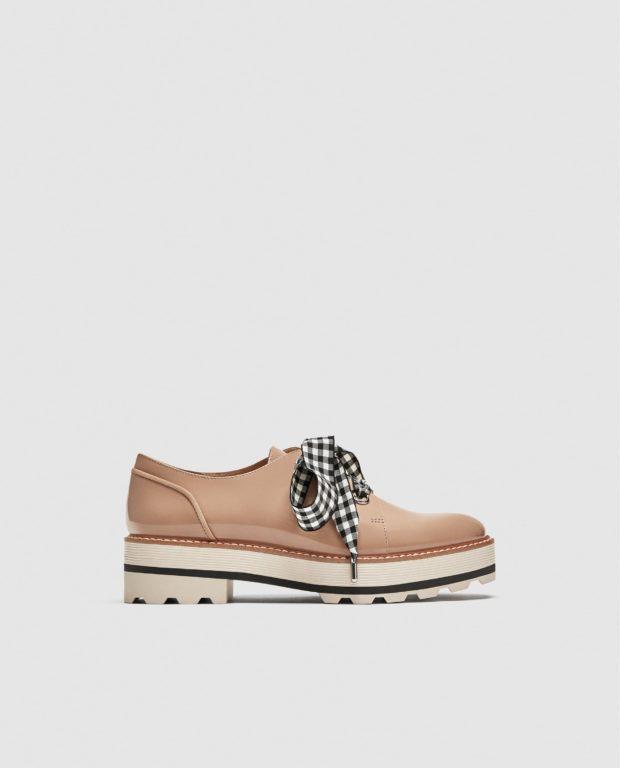 модные туфли 2018-2019 года: на тракторной подошве