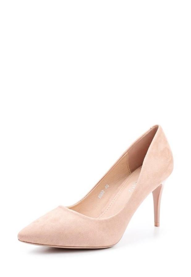 туфли женские 2018-2019: розовые высокий каблук