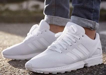 стильные белые кроссовки 2018-2019 adidas