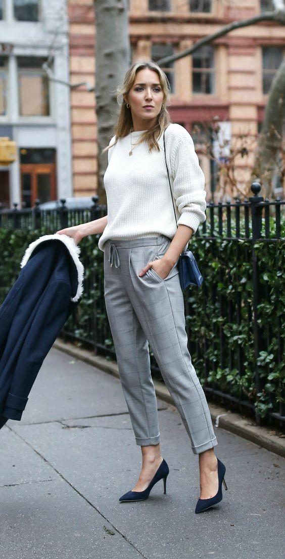 Модные женские брюки-скинни 2018
