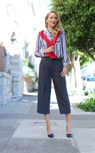 брюки женские 2019 года: скинни серые