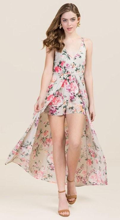 стильные повседневные платья с цветочнымипринтами