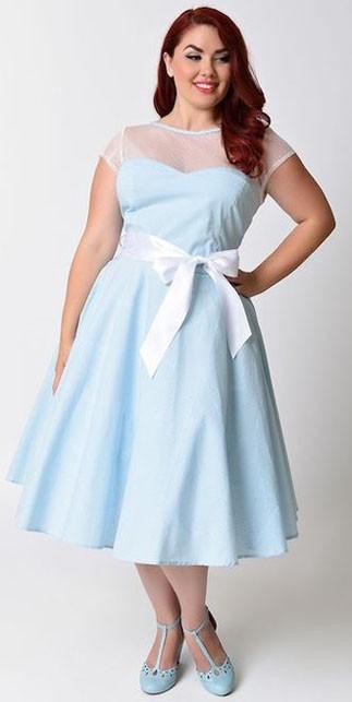 Модные платья для полных на каждый день