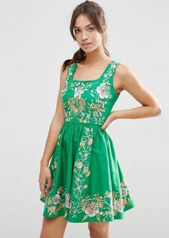 Модные платья 2018-2019 на каждый день: красивые сарафан