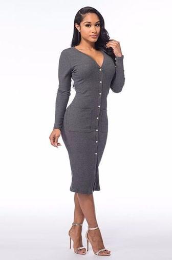 стильное платье на каждый день: трикотажные