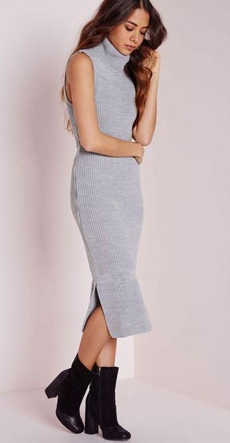 стильное платье на каждый день: красивые трикотажные