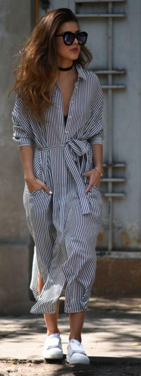 стильное платье на каждый день: рубашка фото