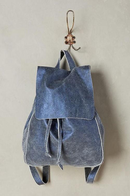 Модные джинсовые рюкзаки фото