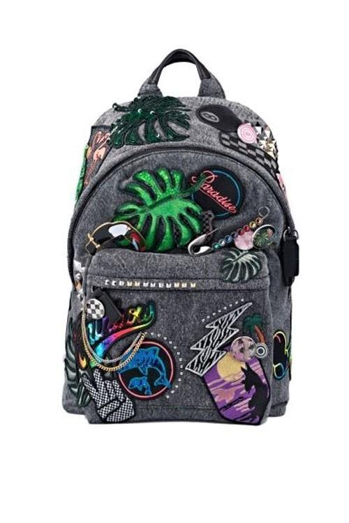 Модные рюкзаки с аппликациями
