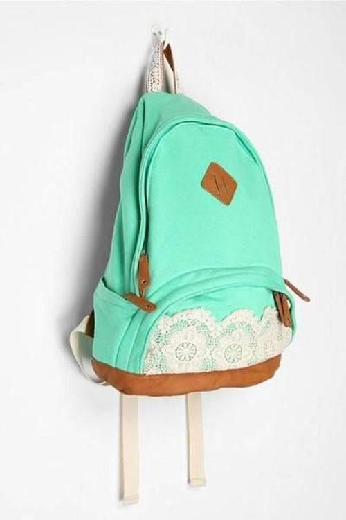 стильные рюкзаки с аппликациями