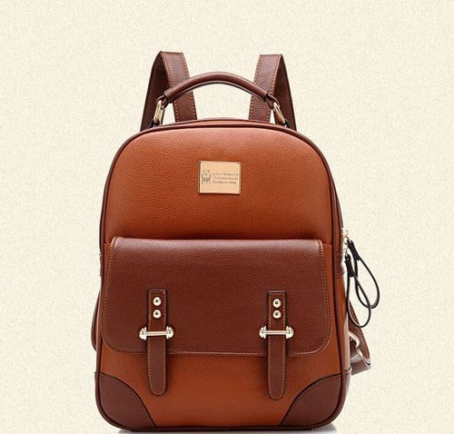 Модные кожаные рюкзаки 2018-2019 фото