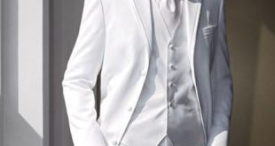 Белый костюм на выпускной для парня 2017 фото