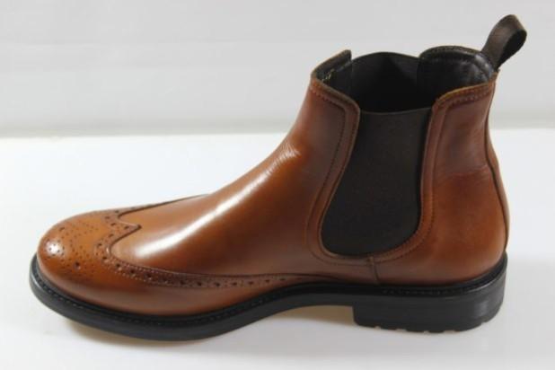 Мужская коричневая обувь челси 2018-2019