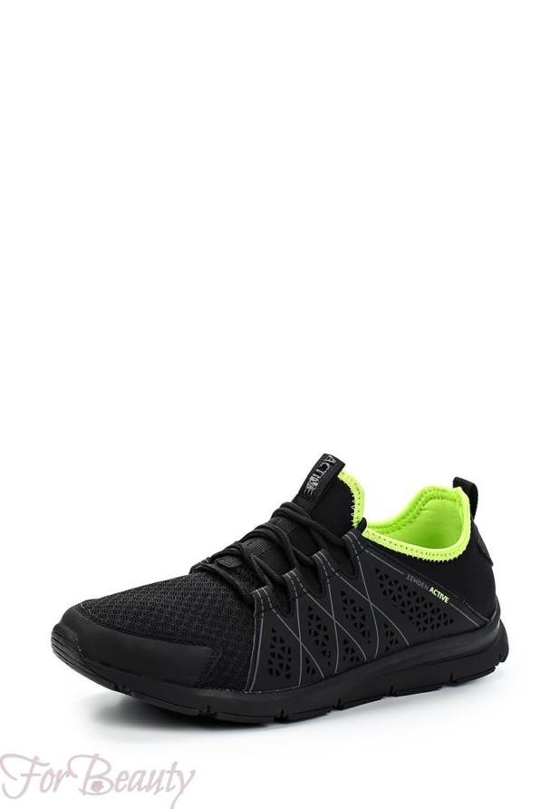 мужские черные кроссовки 2018