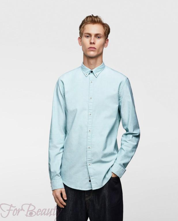 голубая рубашка на выпускной для парня в 2018 году