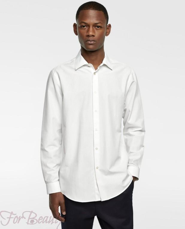 белая рубашка на выпускной для парня в 2018 году