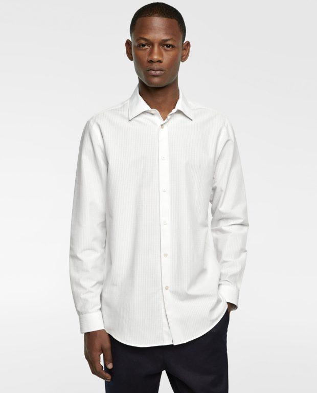 белая рубашка на выпускной для парня в 2018-2019 году