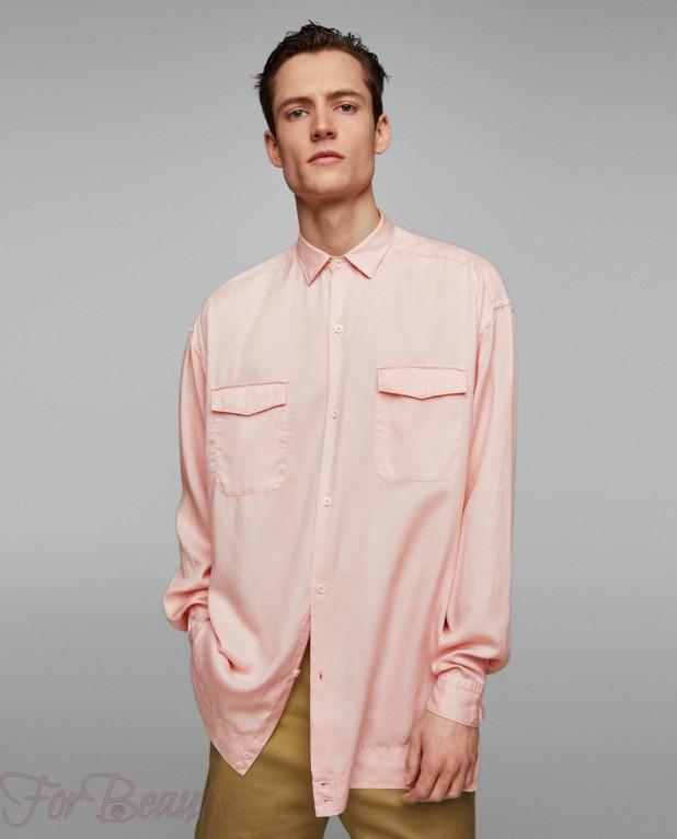розовая рубашка на выпускной для парня в 2018 году