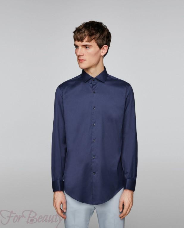 синяя рубашка на выпускной для парня в 2018 году