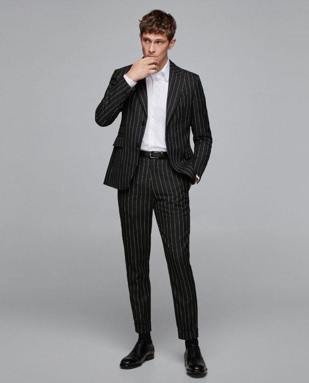 Классический костюм на выпускной для парня 2020-2021