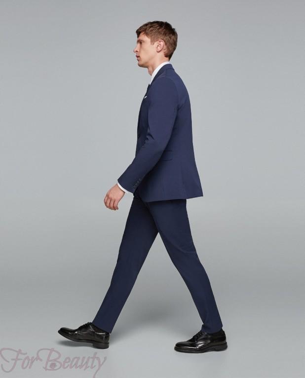 Классический костюм на выпускной для парня 2018